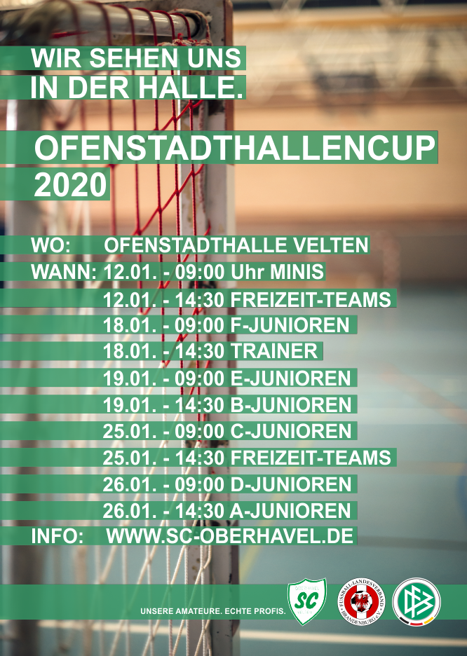 Hallencup 2020